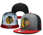 Wholesale Cheap Chicago Blackhawks Snapback Ajustable Cap Hat YD 5