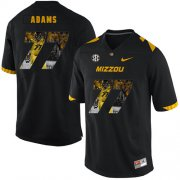 Wholesale Cheap Missouri Tigers 77 Paul Adams Black Nike Fashion College Football Jersey