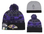 Wholesale Cheap Baltimore Ravens Beanies YD006