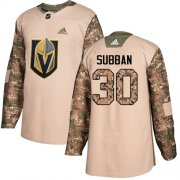 Wholesale Cheap Adidas Golden Knights #30 Malcolm Subban Camo Authentic 2017 Veterans Day Stitched NHL Jersey
