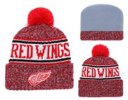 Wholesale Cheap NHL DETROID RED WINGS Beanies 3
