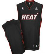 Wholesale Cheap Miami Heat Blank Black Swingman Jersey