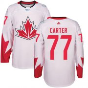 Wholesale Cheap Team Canada #77 Jeff Carter White 2016 World Cup Stitched Youth NHL Jersey