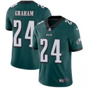 Wholesale Cheap Nike Eagles #24 Corey Graham Midnight Green Team Color Men's Stitched NFL Vapor Untouchable Limited Jersey