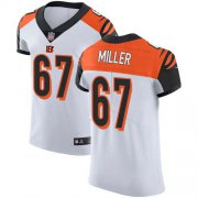 Wholesale Cheap Nike Bengals #67 John Miller White Men's Stitched NFL Vapor Untouchable Elite Jersey