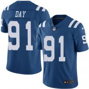 Wholesale Cheap Nike Colts #91 Sheldon Day Royal Blue Youth Stitched NFL Limited Rush Jersey