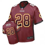 Wholesale Cheap Nike Redskins #28 Darrell Green Burgundy Red Team Color Men's Stitched NFL Elite Drift Fashion Jersey