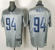 Wholesale Cheap Cowboys #94 DeMarcus Ware Grey Shadow Stitched NFL Jersey