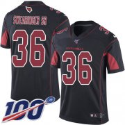 Wholesale Cheap Nike Cardinals #36 D.J. Swearinger Sr. Black Men's Stitched NFL Limited Rush 100th Season Jersey