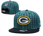 Wholesale Cheap Packers Team Logo Green Black Adjustable Hat TX