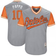 "Wholesale Cheap Orioles #10 Adam Jones Gray ""Pappo"" Players Weekend Authentic Stitched MLB Jersey"