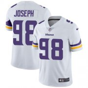 Wholesale Cheap Nike Vikings #98 Linval Joseph White Youth Stitched NFL Vapor Untouchable Limited Jersey