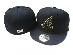 Wholesale Cheap Atlanta Braves fitted hats 11