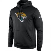 Wholesale Cheap Men's Jacksonville Jaguars Nike Black Practice Performance Pullover Hoodie