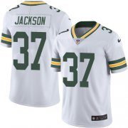 Wholesale Cheap Nike Packers #37 Josh Jackson White Youth Stitched NFL Vapor Untouchable Limited Jersey