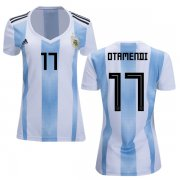 Wholesale Cheap Women's Argentina #17 Otamendi Home Soccer Country Jersey