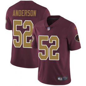 Wholesale Cheap Nike Redskins #52 Ryan Anderson Burgundy Red Alternate Men\'s Stitched NFL Vapor Untouchable Limited Jersey