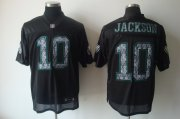 Wholesale Cheap Sideline Black United Eagles #10 DeSean Jackson Black Stitched NFL Jersey