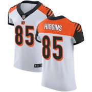 Wholesale Cheap Nike Bengals #85 Tee Higgins White Men's Stitched NFL New Elite Jersey
