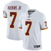 Wholesale Cheap Nike Redskins #7 Dwayne Haskins Jr White Youth Stitched NFL Vapor Untouchable Limited Jersey