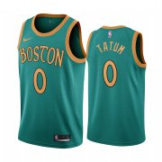 Wholesale Cheap Nike Celtics #0 Jayson Tatum Green 2019-20 City Edition NBA Jersey