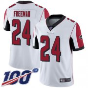 Wholesale Cheap Nike Falcons #24 Devonta Freeman White Men's Stitched NFL 100th Season Vapor Limited Jersey