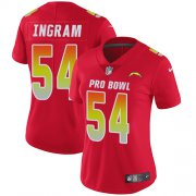 Wholesale Cheap Nike Chargers #54 Melvin Ingram Red Women's Stitched NFL Limited AFC 2019 Pro Bowl Jersey