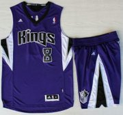 Wholesale Cheap Sacramento Kings #8 Rudy Gay Purple Revolution 30 Swingman Suits