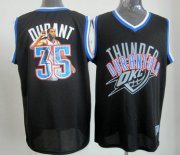 Wholesale Cheap Oklahoma City Thunder #35 Kevin Durant Black Notorious Fashion Jersey
