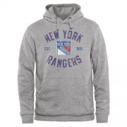Wholesale Cheap New York Rangers Heritage Pullover Hoodie Ash