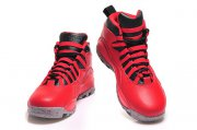 Wholesale Cheap Womens Air Jordan 10 Bulls Over Broadway Gym Red/Black-Cement Grey