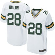 Wholesale Cheap Nike Packers #28 AJ Dillon White Men's Stitched NFL New Elite Jersey