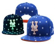 Wholesale Cheap MLB New York Mets Snapback Ajustable Cap Hat YD 4