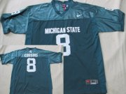 Wholesale Cheap Michigan State Spartans #8 Kirk Cousins Green Jersey