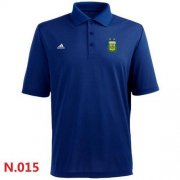 Wholesale Cheap Adidas Argentina 2014 World Soccer Authentic Polo Blue