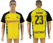 Wholesale Cheap Dortmund #23 Kagawa Yellow Soccer Club Jersey