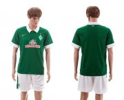 Wholesale Cheap Bremen Blank Green Home Soccer Club Jersey