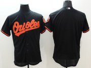Wholesale Cheap Orioles Blank Black Flexbase Authentic Collection Stitched MLB Jersey