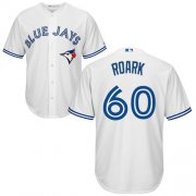 Wholesale Cheap Blue Jays #60 Tanner Roark White New Cool Base Stitched Youth MLB Jersey