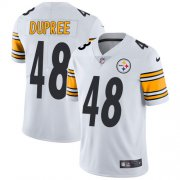Wholesale Cheap Nike Steelers #48 Bud Dupree White Youth Stitched NFL Vapor Untouchable Limited Jersey