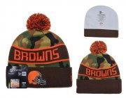 Wholesale Cheap Cleveland Browns Beanies YD002