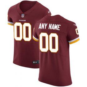 Wholesale Cheap Nike Washington Redskins Customized Burgundy Red Team Color Stitched Vapor Untouchable Elite Men\'s NFL Jersey