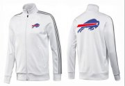 Wholesale Cheap NFL Buffalo Bills Team Logo Jacket White