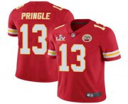 Wholesale Cheap Men's Kansas City Chiefs #13 Byron Pringle Red 2021 Super Bowl LV Limited Stitched NFL Jersey