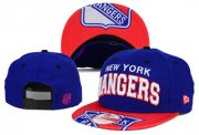 Wholesale Cheap NHL New York Rangers Team Logo Navy Snapback Adjustable Hat