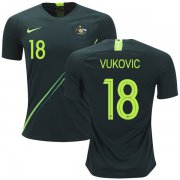 Wholesale Cheap Australia #18 Vukovic Away Soccer Country Jersey