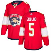Wholesale Cheap Adidas Panthers #5 Aaron Ekblad Red Home Authentic Stitched Youth NHL Jersey