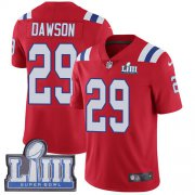 Wholesale Cheap Nike Patriots #29 Duke Dawson Red Alternate Super Bowl LIII Bound Men's Stitched NFL Vapor Untouchable Limited Jersey