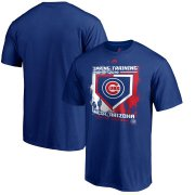 Wholesale Cheap Chicago Cubs Majestic 2019 Spring Training Base On Ball T-Shirt Royal