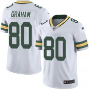 Wholesale Cheap Nike Packers #80 Jimmy Graham White Men's Stitched NFL Vapor Untouchable Limited Jersey